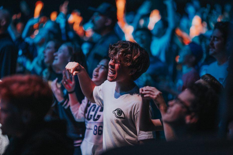 Youth in prayer