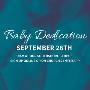southshore baby dedication